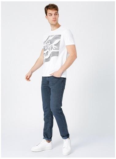 Black On Black Black On Black Lasvegas Beyaz Erkek T-Shirt Beyaz